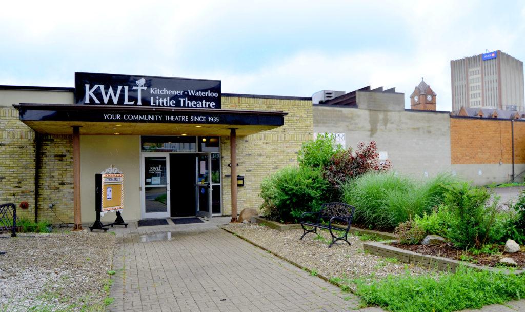 Exterior of KWLT Theatre